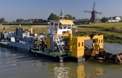 Cutter suction dredger Vecht