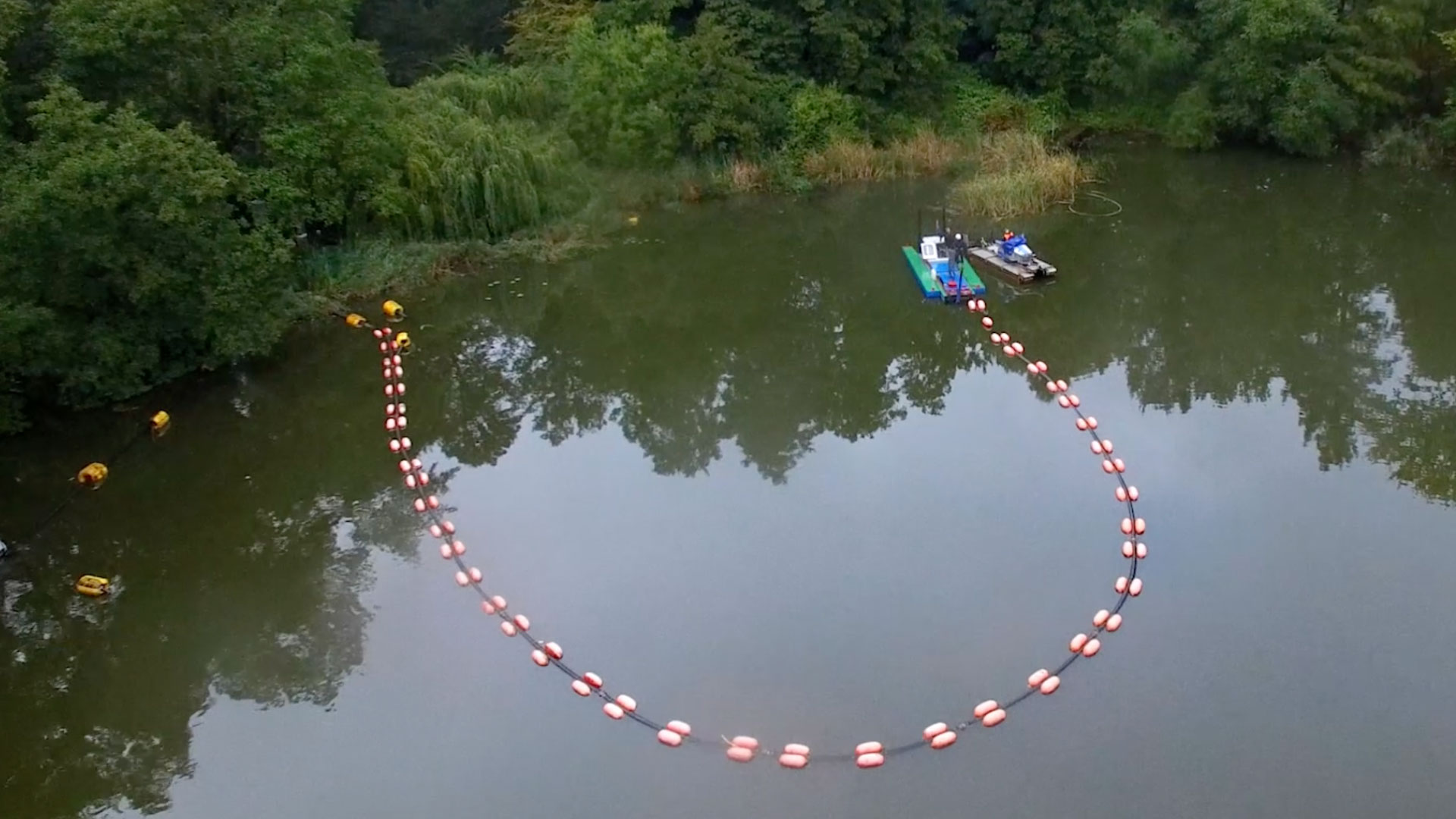Restoring the lake and environment<br>Reinickendorf Berlin, Germany.