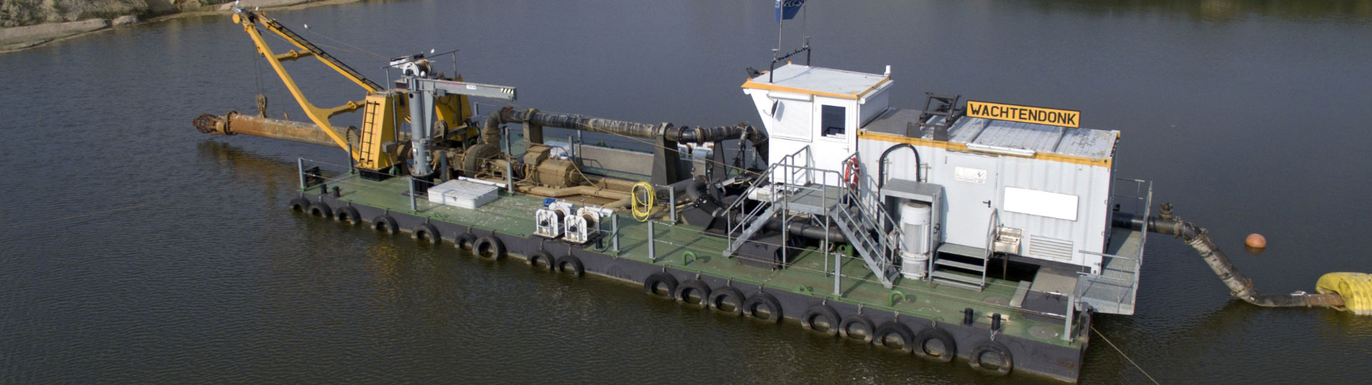 Royal Smals worldwide specialised dredging inland waterways
