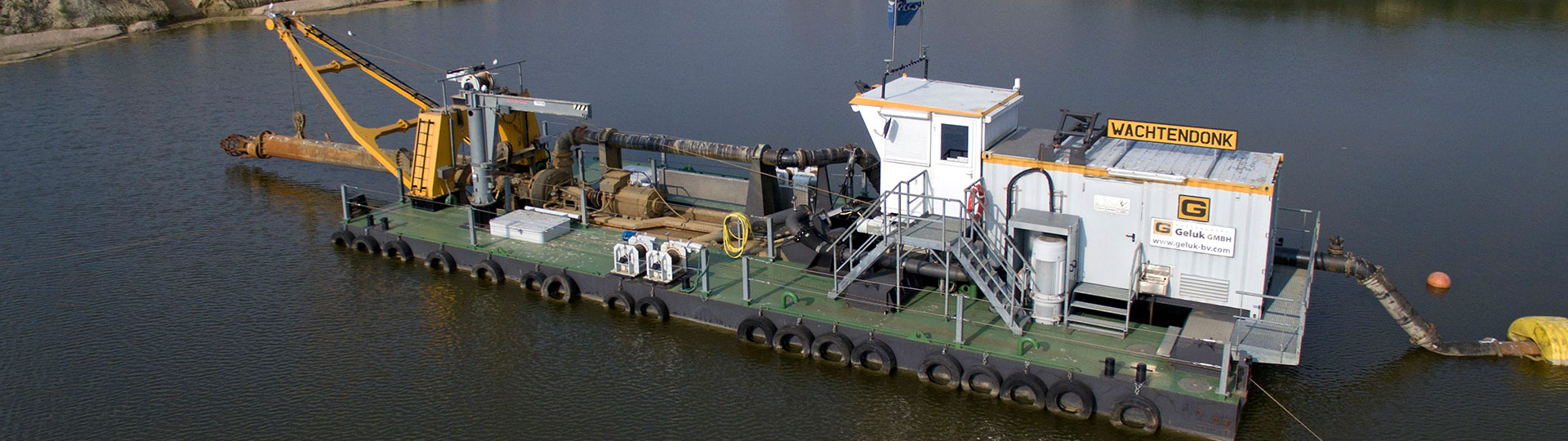 Royal Smals, cutter suction dredger Wachtendonk.