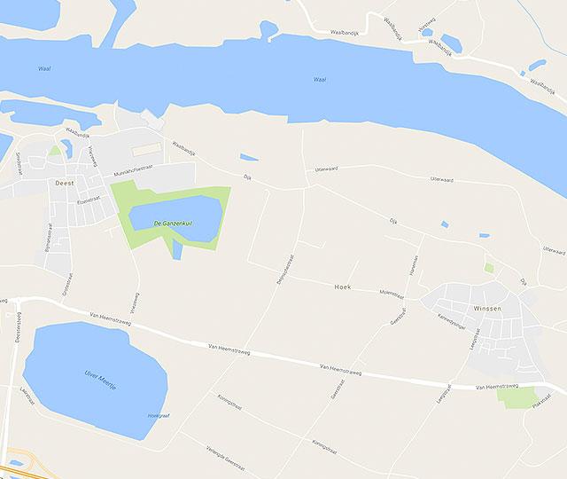 Industriezand en herinrichting 'Geertjesgolf' in gemeente Druten/gemeente Beuningen.