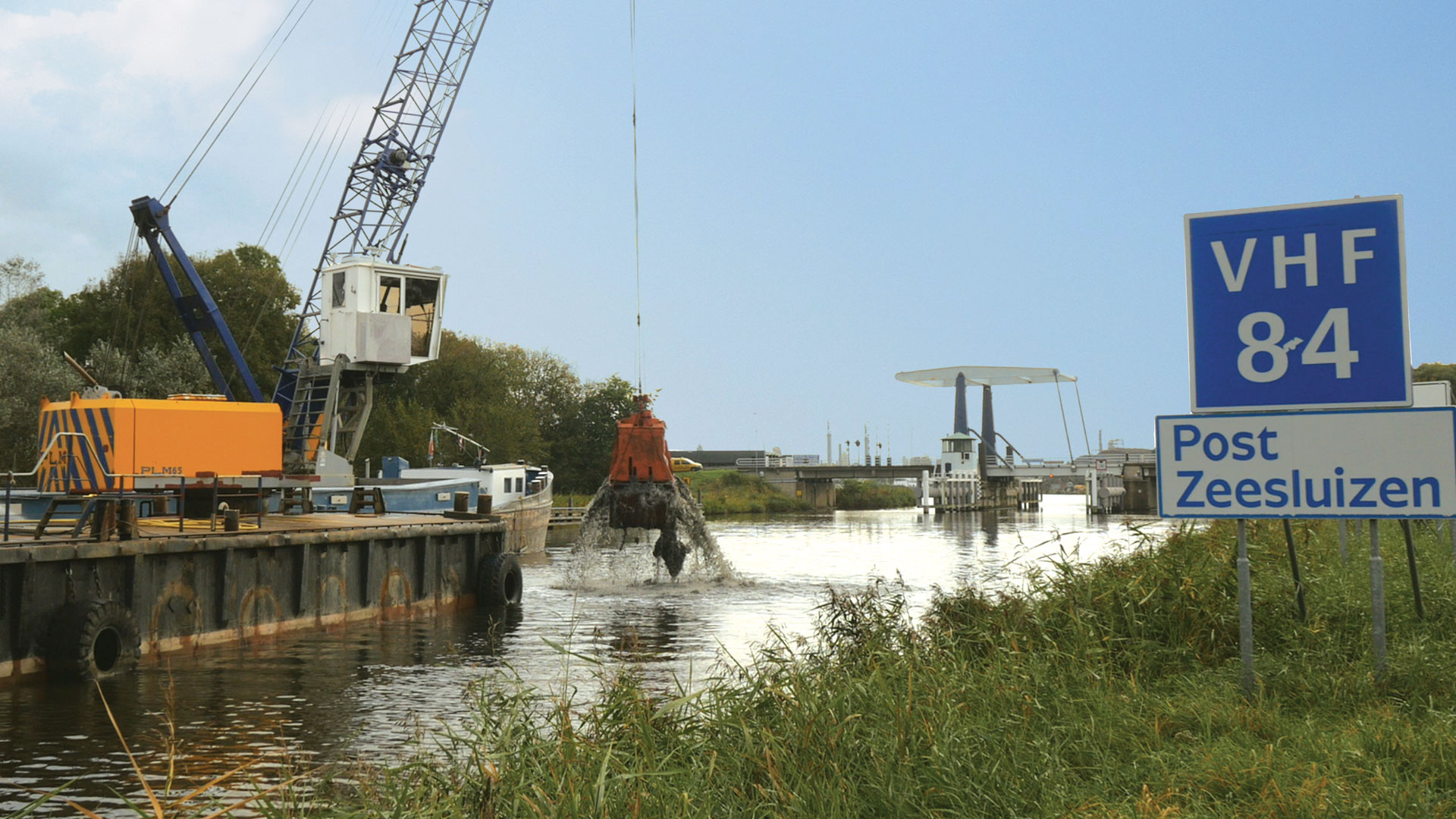 Specialised mechanical  equipment and dredging major waterways, canals and harbours.