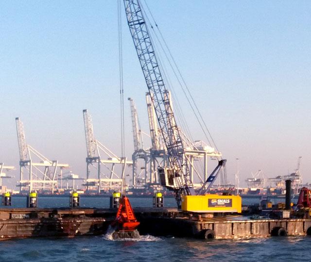 Oost Rhenus, Europahaven Maasvlakte.