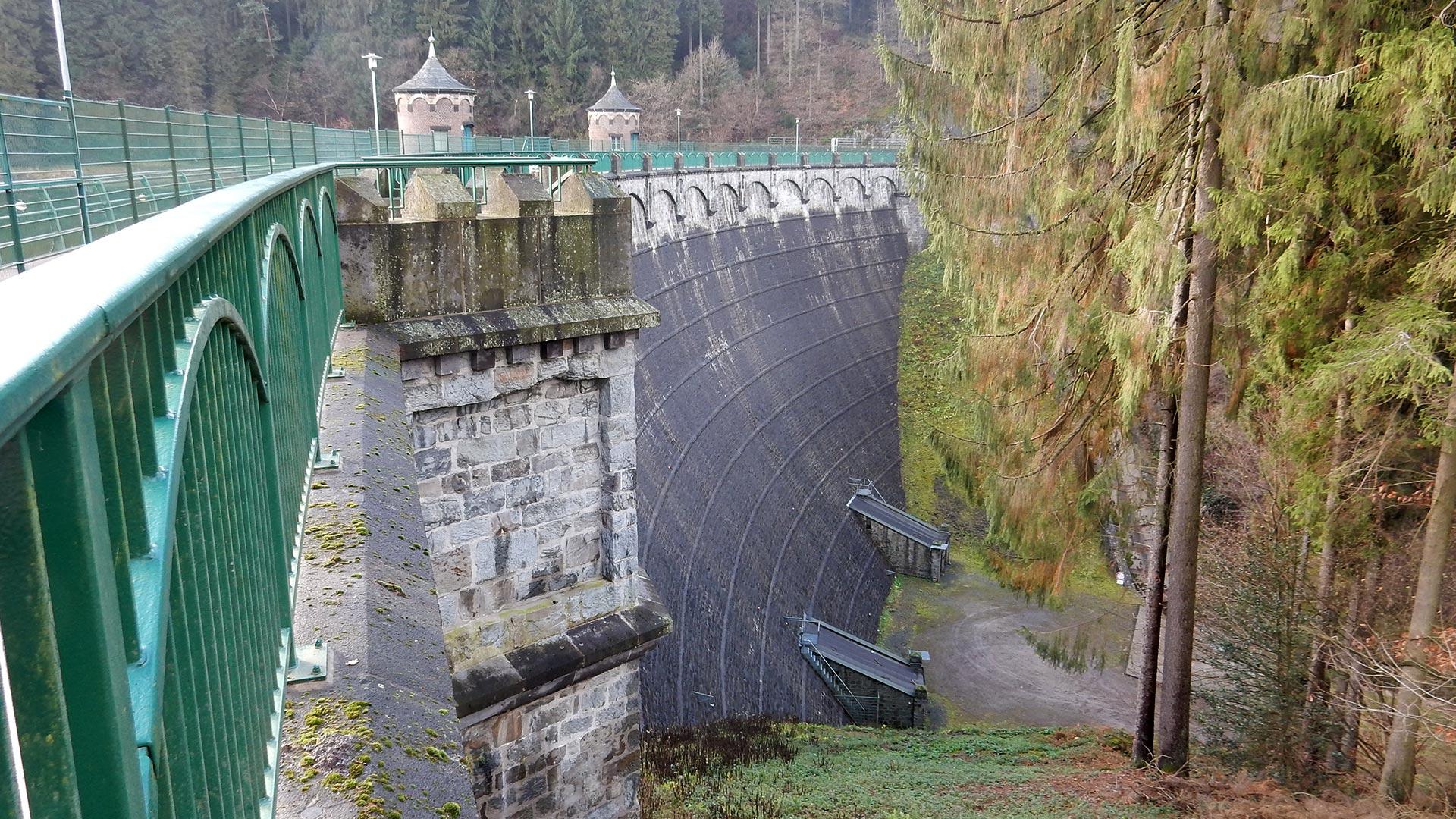 Sengbachtalsperre Solingen, Germany, preservation of drinking water.